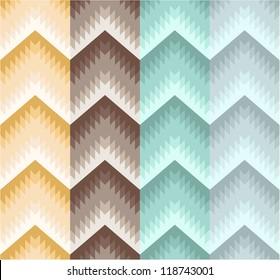Seamless stripe zigzag pattern