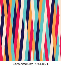 Seamless striped color background pattern