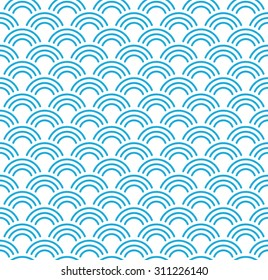 seamless striped wave pattern.