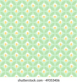 Seamless stylish tablecloth pattern. Cute restaurant style. Easy editable eps 8.0 file.