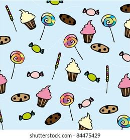 Seamless Sweet Pattern