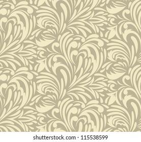 Seamless swirl pattern. Abstract luxury illustration