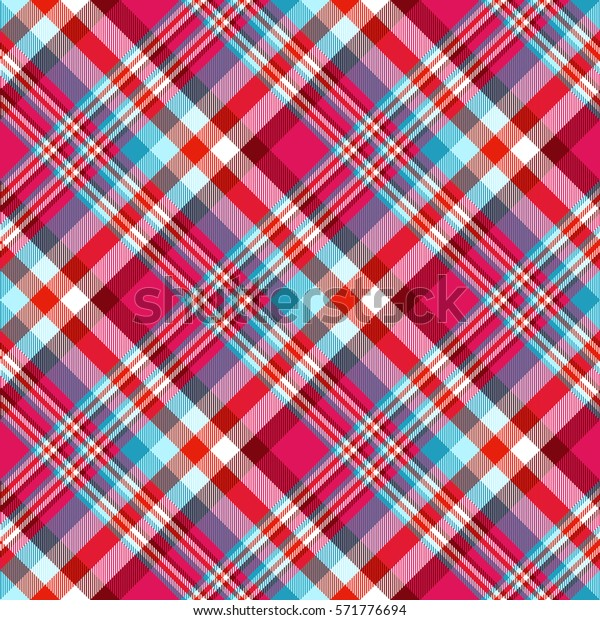 picture relating to Lite Brite Free Printable Patterns named Seamless Tartan Plaid Routine Checkered Material Inventory Vector