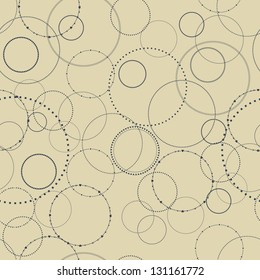 Seamless texture with a concentric pattern