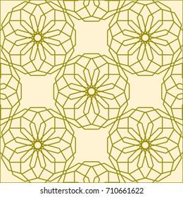 Seamless texture.. Geometric ornament