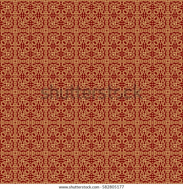 Seamless texture of geometric shape. mirror illustration. For the interior design, printing, web and textile design. Modern design.