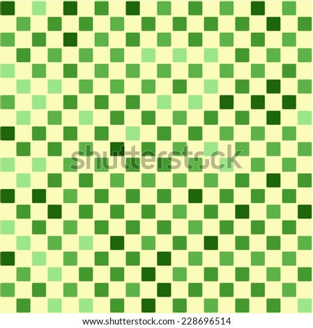 Seamless Texture Green Checker Pattern Random Stock Vector Royalty Simple Checker Pattern