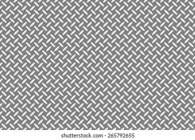 Seamless Texture of Interleaving Pattern of Long Ellipses in Alternating Diagonal Direction. White Ellipses on Background of Dark Gray.