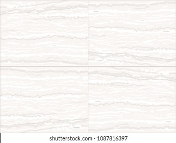 Seamless texture of marble tiles. Wall of limestone. A natural stone. Vector graphics.