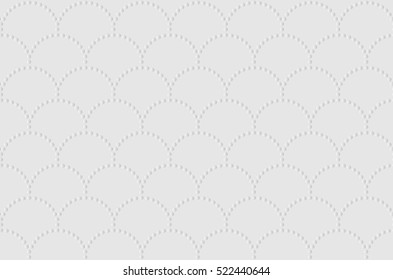 Seamless texture of napkins embossed. Soft white texture of cardboard. Abstract vector illustration.