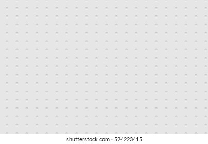 Seamless texture of napkins embossed. Soft white texture of cardboard. Abstract vector illustration