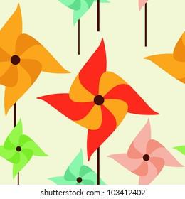 seamless texture with a pinwheel