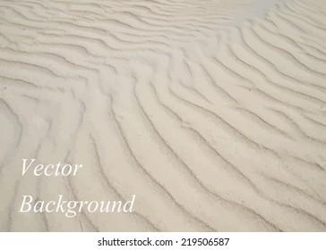 Seamless texture of sand beach