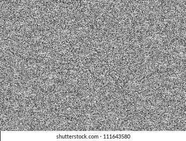 Seamless texture with television grainy noise effect for background. TV screen no signal. Horizontal template rectangle a4 format. This vector illustration clip-art design element saved in 8 eps