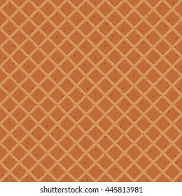 seamless texture of waffles