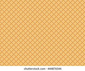 seamless texture of waffles. Easy to change colors.