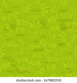 Seamless textured grass background on the lawn. Natural organic grass pattern.