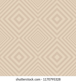 Seamless tile diagonal line gradient pattern. Design beige on light brown background. Design print for textile, wallpaper, background, floor. Set 6