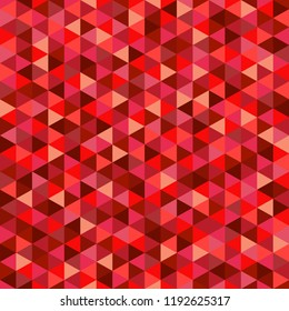 Seamless tile pattern. Colorful multicolored background. Abstract triangle texture. Geometric wallpaper of the surface. Print for polygraphy, shirts and textiles. Vintage and retro style