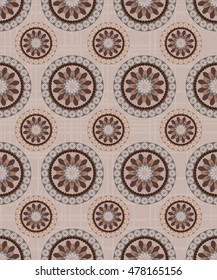 seamless tile with Victorian motives. Tile