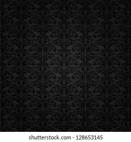 Seamless tiled background of a Damask pattern