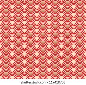 Seamless traditional asian pattern