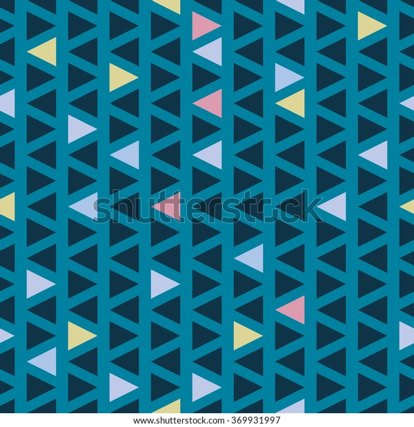 Seamless triangle pattern. Vector background. Geometric abstract texture.