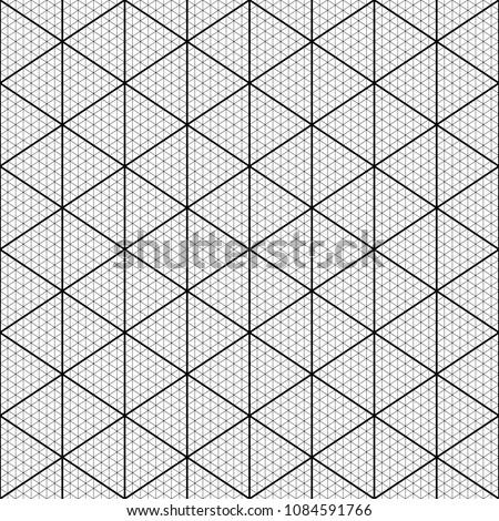 Seamless Triangles Pattern Interlocking Triangular Shapes Tessellation Background Triangle Figures Wallpaper Grate Backdrop