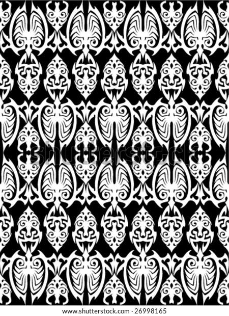 Seamless Tribal wallpaper