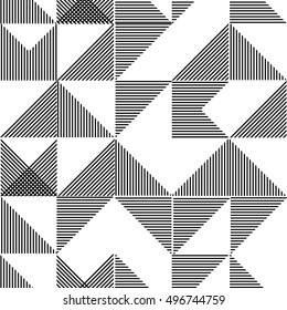 seamless vector abstract lines