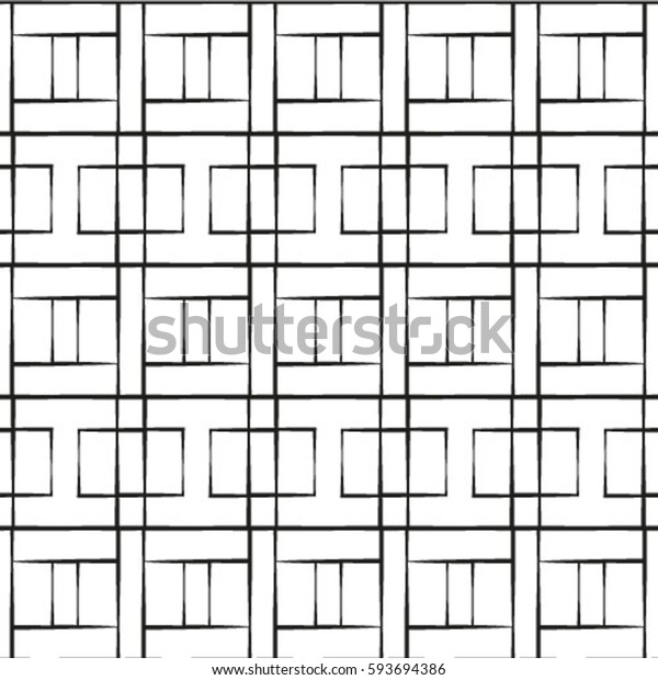 Seamless vector abstract pattern. symmetrical geometric repeating background with decorative rhombus. Simple graphic design for web backgrounds, wallpaper, wrapping, surface, fabric.