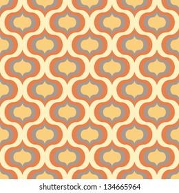 Seamless vector art geometric pattern background