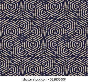 Seamless vector  background. Graphic stylish pattern. Blue and gold modern texture. Abstract pattern.