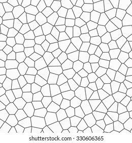 Seamless Vector Background of Irregular Mosaic