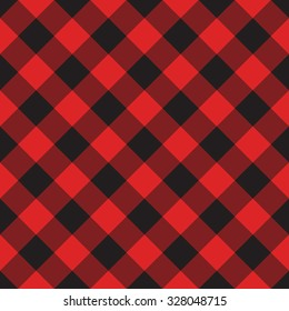 Seamless vector background with a pattern in the Scottish style
