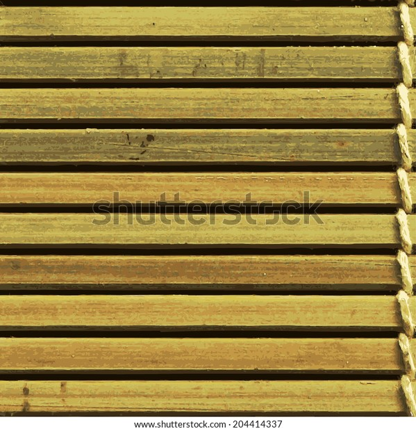 seamless vector background of wood, horizontal stripes, mat