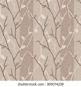 Seamless vector  brown and beige  hand drawing  pattern, pattern can be used for wallpaper, pattern fills, surface textures