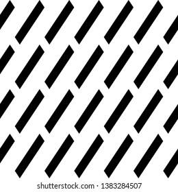 Seamless vector. Diagonal strokes background. Parallelograms backdrop. Slanted geometrical figures pattern. Tilted quadrangles. Geometric ornament. Digital paper, web design, textile print.