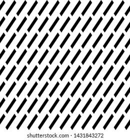 Seamless vector. Diagonal strokes background. Parallelograms backdrop. Slanted geometrical figures pattern. Tilted quadrangles. Geometric ornament. Digital paper, web design, textile print
