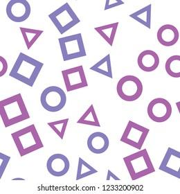 Seamless vector EPS 10. Geometric Figures