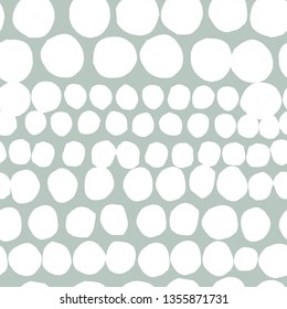 Seamless vector hand draw dotted vector background