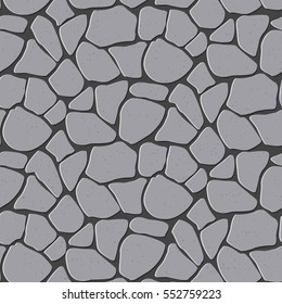 Seamless vector illustration of seamless stone, brick. Which can be used and expanded to any size without loss of quality. Other variations pattern you can find in my portfolio.