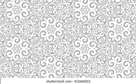Seamless Vector Ornate Pattern
