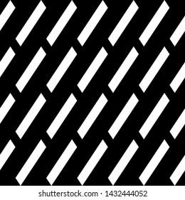 Seamless vector. Parallelograms backdrop. Diagonal strokes background. Slanted geometrical figures pattern. Tilted quadrangles. Geometric ornament. Digital paper, web design, textile print.