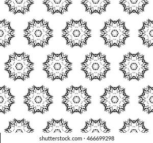seamless vector pattern. abstract ornament. interior decoration, wallpaper, presentation, fashion design