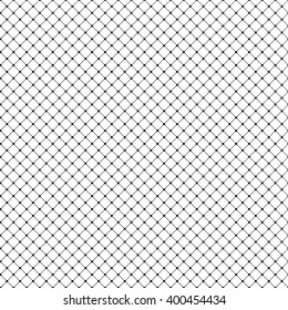 Seamless vector pattern with black squares on white background