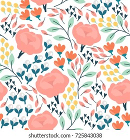 Simple Flower Painting Images Stock Photos Vectors Shutterstock