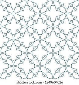Фотообои Seamless vector pattern in geometric ornamental style