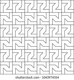 Seamless vector pattern  modern stylish texture