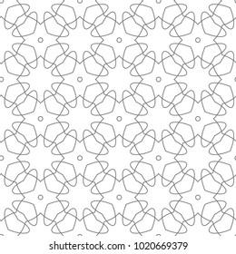 Фотообои Seamless vector pattern in ornamental style